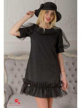 Платье The First Land of Fashion, цвет черный