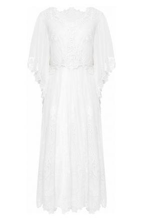 Платье из смеси хлопка и шелка Dolce & Gabbana