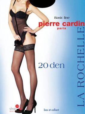 Чулки, 2 пары, 20 den Pierre Cardin, цвет черный
