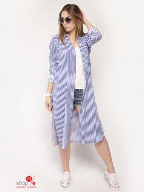 Рубашка Lavana Fashion, цвет сиреневый