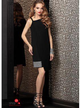 Платье Твой Имидж, цвет черный