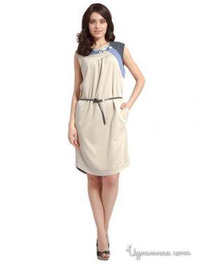 Платье Com-Mix, цвет бежевый