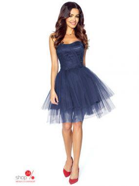 Платье KarteS-Moda, цвет темно-синий