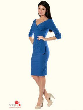 Платье Diva, цвет синий