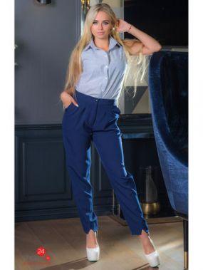 Брюки The First Land of Fashion, цвет синий