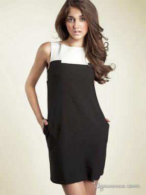 Платье Nife, цвет черный, кремовый