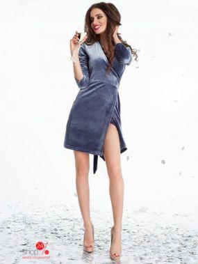 Платье B&H, цвет серый