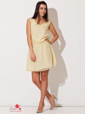 Платье Katrus, цвет желтый