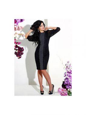 Платье Medini, цвет черный