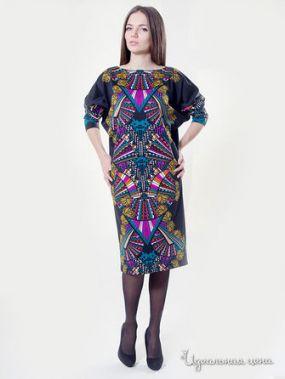 Платье M.A.K.K.O., цвет мультиколор