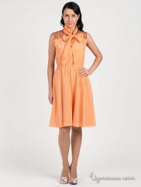 Платье Maria Rybalchenko, цвет персиковый