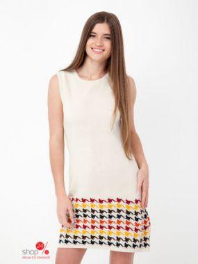 Платье Little Marcel, цвет экрю, разноцветный