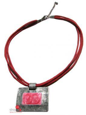 Колье Klingel, цвет серый, розовый