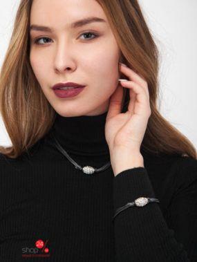 Комплект украшений Klingel, цвет темно-серый, серебристый