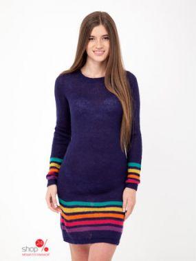 Платье Little Marcel, цвет темно-синий, разноцветный, полоска