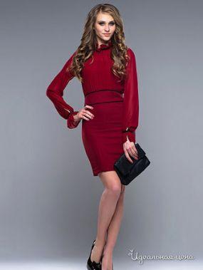 Платье Bovona, цвет бордовый