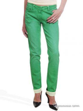 Узкие джинсы Victoria, длина 32 Million X Woman, цвет зеленый
