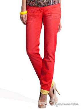 Узкие джинсы Victoria, длина 32 Million X Woman, цвет оранжевый