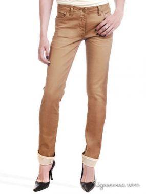 Узкие джинсы Victoria, длина 32 Million X Woman, цвет карамельный