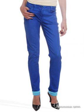 Узкие джинсы Victoria, длина 32 Million X Woman, цвет ярко-синий