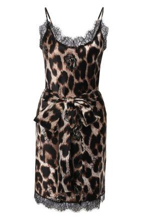 Шелковое платье Philipp Plein