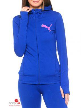 Толстовка Puma, цвет синий