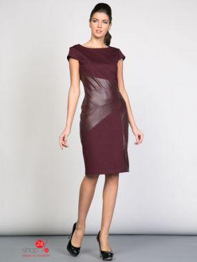 Платье La Via Estelar, цвет бордовый