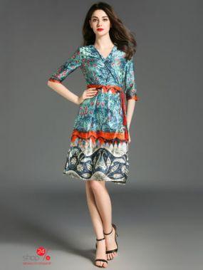 Платье с запахом KAIMILAN, цвет мультиколор