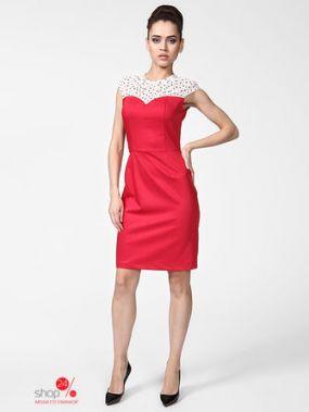 Платье LuAnn, цвет красный, белый