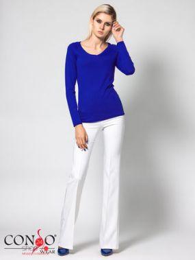 Пуловер CONSO, цвет ярко-синий
