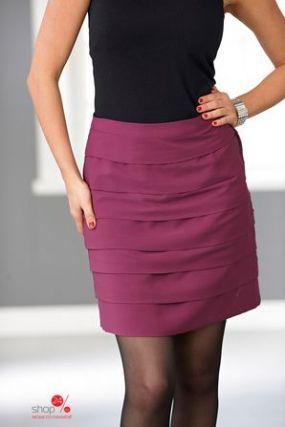 Юбка Cellbes, цвет красно-фиолетовый