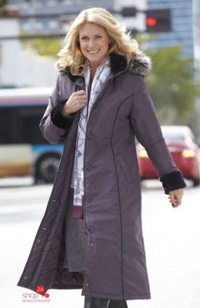 Пальто Cellbes, цвет серо-лиловый