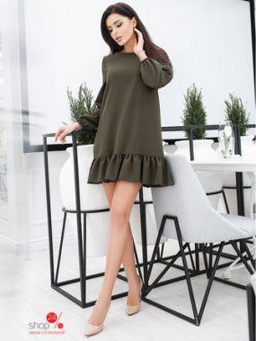 Платье B&H, цвет хаки