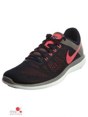 Кроссовки Nike, цвет черный, розовый