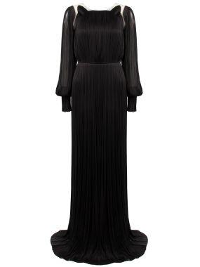 Гофрированное платье