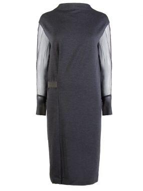 Комбинированнное платье