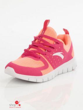 Кроссовки ANTA, цвет персиковый, розовый