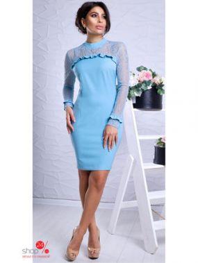 Платье LUZANA, цвет голубой